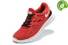 Rouge Et Noir Chaussure Nike Free Run 2.0 Femme 2014 EQPG 361308