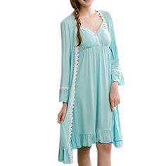 Partiss Damen Cotton Padded Sling Lingerie Stueck eingebaut Nachthemd Schlafanzug Tag M Blue Partiss http://www.amazon.de/dp/B01BW9RERE/ref=cm_sw_r_pi_dp_6Q61wb13J7C4H