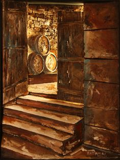 Artsy, Paintings, 3d, Creative, Artwork, Stairway, Work Of Art, Paint, Auguste Rodin Artwork