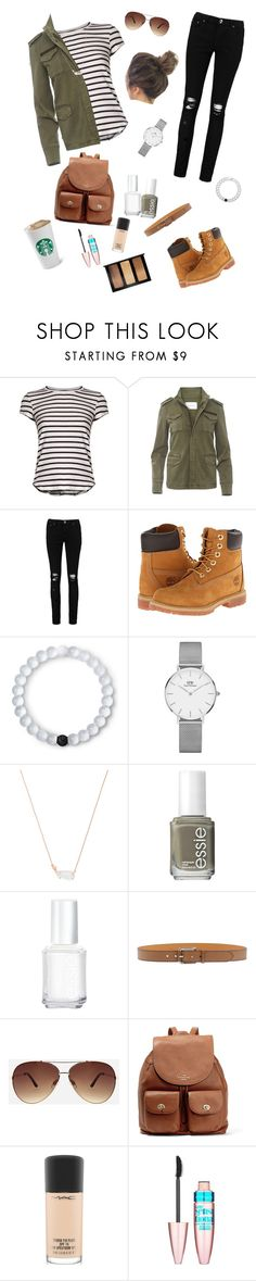 """Everyday"" by miriamk2020 ❤ liked on Polyvore featuring Frame, Anine Bing, Boohoo, Timberland, Lokai, Daniel Wellington, Kendra Scott, Essie, Etro and Ashley Stewart"