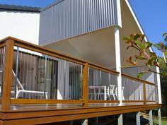 Steel Cable Deck Rail. Ocean Shores, NSW