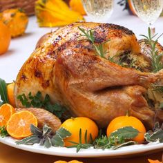 Orange Roasted Turkey Recipe from Grandmother's Kitchen