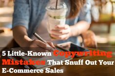 5 Little-Known Copywriting Mistakes That Snuff Out Your E-Commerce Sales via Forbes http://www.forbes.com/sites/groupthink/2017/03/02/5-little-known-copywriting-mistakes-that-snuff-out-your-e-commerce-sales/