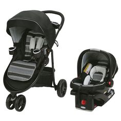 Graco Aire3 Click Connect Travel System, Multicolor