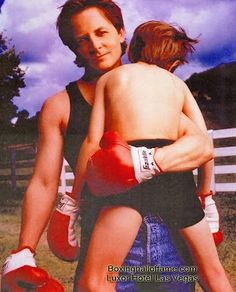 Michael J. Fox has proven he is a fighter in more ways than one.  Boxing Hall of Fame - Google+  boxinghalloffame.com