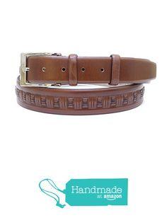 "Brown Adjustable Leather Belt 133 cm (52.36"") BLT834 from Nazo Design… #handmadeatamazon #nazodesign"