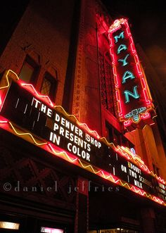 The Mayan Theater. Downtown Los Angeles