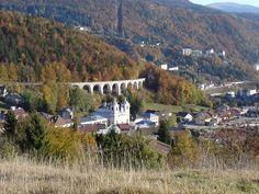 Morbier et son viaduc, Jura, Franche-Comté