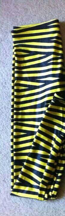 Yellow Tape leggings