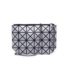 3ad65fcd2113 Famous BaoBao bag Diamond Lattice Fold Sequin Over Bags Small Women Clutch  Handbag Chain Shoulder Messenger Bag Wristlet bao bao