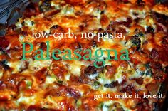 Low Carb - No Pasta- Lots of Vegs + Turkey = Paleasagna!  Tutorial with pics!