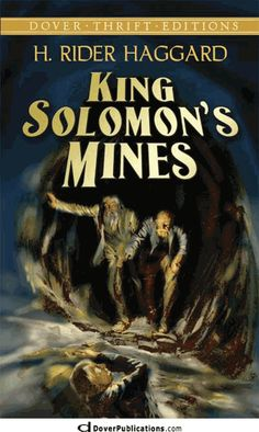 King Solomon's Mines One of the best adventure books bar none. Unbelievably modern for being written in the 19th century. Loved it!