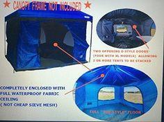 #beachaccessoriesstore Standing Room Family Cabin Tent 8.5 FEET OF HEAD ROOM 2 or 4 Big Screen Doors Fast Easy Set… #beachaccessoriesstore http://campingtentslovers.com/tent-camping-tips/