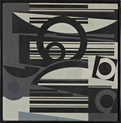 Gunter FRUHTRUNK (1923-1982) Composition abstraite, 1960 Gouache flashe sur isorel. Sold 8 000€ with Artprecium #artauction