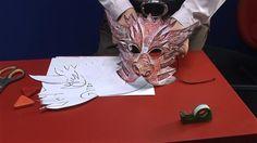 Výroba masky čerta