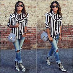 OUTFIT OF THE DAY BY @sincerelyjules #sincerelyjules #juliesariñana #juliesarinana #howtochic #ootd #outfit