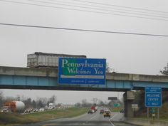 Then the long haul through Pennsylvania on the Interstate