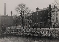 The road up to Sunday's Well is immediately recognizable! This historic photo shows Francis Wise house in Cork, across the street from Boole's lodgings on Grenville Place.