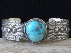 Darrel Cadman Bisbee Turquoise Bracel... at Chacodog.com