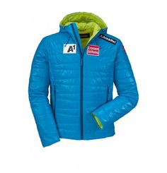 Warm, light and versatile! The ÖSV Skyler Jacket is packed with extra warm, quick drying Ventloft® insulation, promising you the ultimate comfort on a cold winter day. With the cosy comfort and bold colou - the ÖSV Skyler Jacket has been enjoyed by Austria's top skiers - now it's your turn.