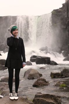 The Clothes Horse: Iceland Day One