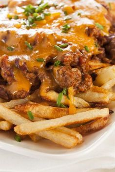 Cheeseburger French Fries