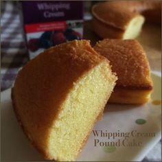 My Mind Patch: Whipping Cream Pound Cake