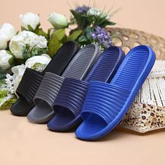 $2.98 (Buy here: https://alitems.com/g/1e8d114494ebda23ff8b16525dc3e8/?i=5&ulp=https%3A%2F%2Fwww.aliexpress.com%2Fitem%2FGRACEFUL-Man-Stripe-Flat-Bath-Slippers-Summer-Sandals-Indoor-Outdoor-Slippers-zapatillas-NOV10%2F32764405416.html ) GRACEFUL  Man Stripe Flat Bath Slippers Summer Sandals Indoor & Outdoor Slippers zapatillas NOV10 for just $2.98