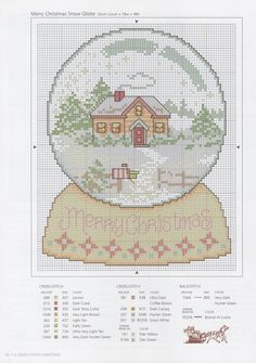 ♧Snowglobe with homestead scenery.  Wording can be omitted or replaced.  I might add family name. Enjoy.