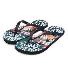 Mens Mandalas Beautiful Mermaid Gir Flip Flop for Mens New Comfortable Shoes