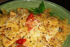 farfalle bow tie pasta with chicken sun dried tomatoes farfalle bow ...