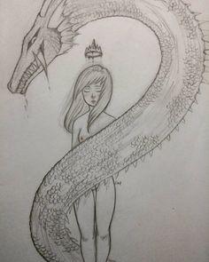 Mine. #dibujo #dibujoalapiz #draw #drawing #sketchbook #sketch #artwork #dailyart #dailydrawing #doodling #doodle #halloween #art_4share #instadraw #instaart #cute #ink #prismacolor #dragon