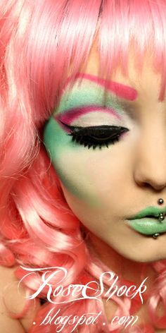 Something different to try.   candy makeup
