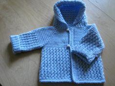 Tunisian Crocheted Boy Sweater project on Craftsy.com
