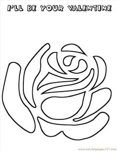 perfect valentines coloring pages printable and coloring book to print for free. Find more coloring pages online for kids and adults of perfect valentines coloring pages to print. Free Stencils, Stencil Templates, Stencil Patterns, Stencil Designs, Mosaic Patterns, Embroidery Patterns, Hand Embroidery, Free Printable Stencils, Mosaic Ideas