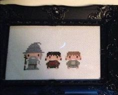 LORD OF THE RINGS CROSS STITCH LITTLE RED STITCHES