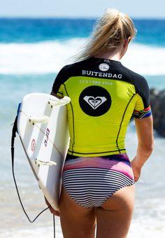 Pro Surfer Bianca Buitendag (ZAF) Roxy Pro Snapper Rocks Pro 2014