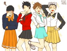 Oh my God Oikawa WSS BORN FOR THIS MOMENT || haikyuu!! captains