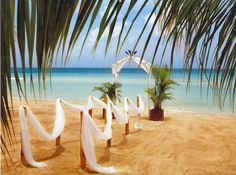 Decorating the beach is difficult, but if you think about it more carefully, you will realize that there isn`t that much that you have to do. The sand and the ocean will provide you with the best atmosphere that you can ask for.