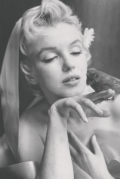 Marilyn Monroe photographed by Cecil Beaton, 1956.