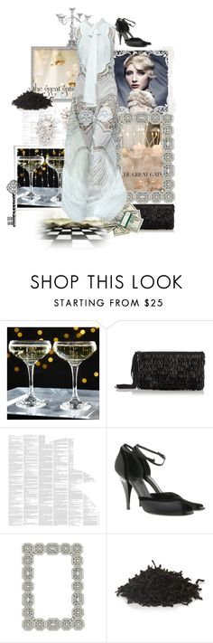 """Keys And Clues To Enter The Gatsbsy"" by the-house-of-kasin ❤ liked on Polyvore featuring Oasis, Spineless Classics, Gucci, Olivia Riegel, Roberto Cavalli, TWG Tea Company, vintage, women's clothing, women's fashion and women"