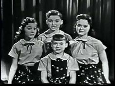 The Lawrence Welk Show: Thirteen Going On Fourteen The Lawrence Welk Show, The Lennon Sisters, American Bandstand, Youtube Stars, Vintage Tv, My Youth, Amazing People, Live Tv, Good Old
