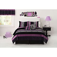 @Overstock - Posh Purple Comforter sets are a bright collection of pieced fabrics of satin velours and textures.  These comforters are handcrafted for years of enjoyment and extra value.     http://www.overstock.com/Bedding-Bath/Posh-Purple-Polyester-Satin-Velour-and-Woven-Patchwork-Comforter-Set/6774207/product.html?CID=214117 $74.99