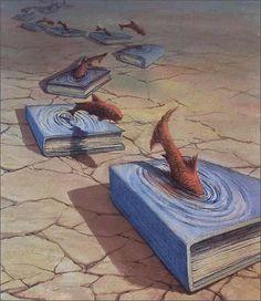 Un libro puede ser un río en el que sumergirte para refrescar tus ideas