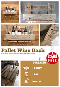 This Tutorial By Jean Christian Gambellin Will Show You How To Made A  Pallet Wine
