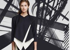 """Тренд: Архитектура. Ломаные линии, складки, отвороты, срезы создают искусственный объем и сложный силуэт.   На фото жакет ElenaReva в нашей подборке """"Архитектурный крой"""" на suitster.com.  купить http://suitster.com/podborki/arhitekturniykroy/  #suitster #online #store #fashion #style #selections #elenareva"""