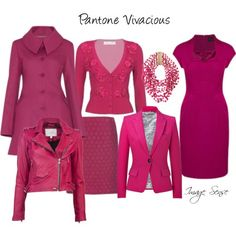Wear some Pantone Vivacious this winter to clear away the winter blues! #AW13 #colour sense