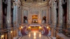 """Chicago-based urban exploration photographer <a href=""""http://ebow.org/"""" target=""""_blank"""">Eric Holubow</a> has traveled across America photographing abandoned and forgotten sites. <br /><em><br />The Uptown Theater in Chicago, Illinois </em>"""
