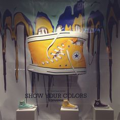 "CONVERSE,Los Angeles,CA, USA, ""The Chuck Taylor All Star-Show Your Colors"", pinned by Ton van der Veer"