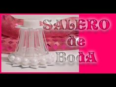 Cómo hacer saleros para boda Sencillos / REY SOL / TUTORIAL Inerya viris